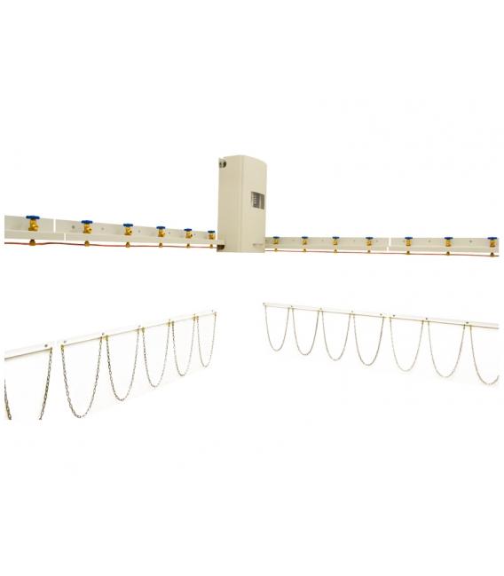 Medikal Oksijen Santralı 2x5+1x5 Tüplük 185 m³/h