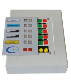 Medikal Gaz Alarm Paneli, 3 Gaz İçin