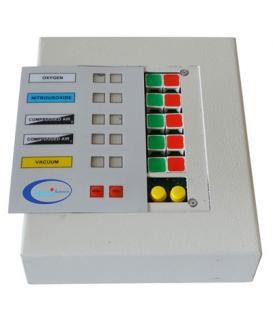 Medikal Gaz Alarm Paneli, 5 Gaz İçin