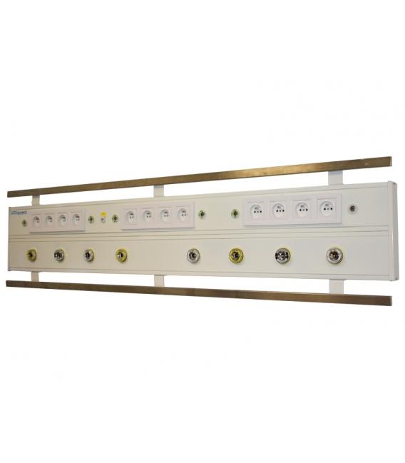 Yoğun Bakım Ünitesi Yatay Tip 150 cm. 6 Gaz Prizi DIN Norm